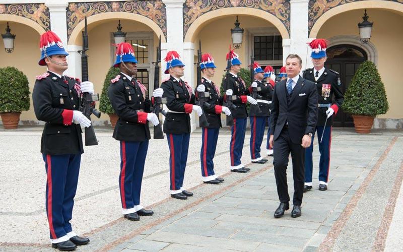 Dario Item est l'un des nouveaux représentants diplomatiques à Monaco