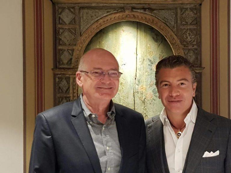 Dario Item Jean-Luc Van Klaveren Ambassador of the Principality of Monaco in Spain